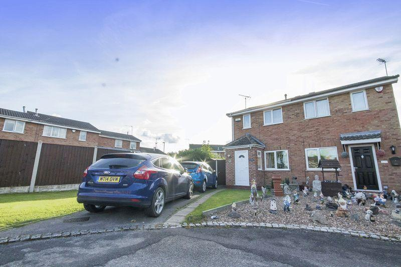 2 Bedrooms Semi Detached House for sale in Curborough Drive, Derby