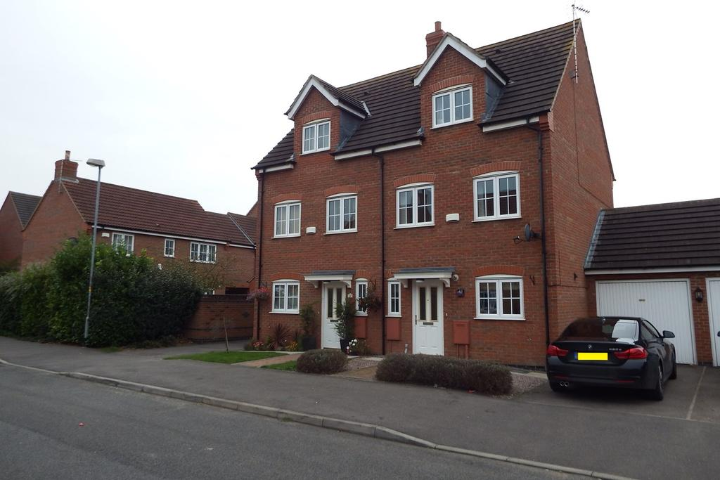 4 Bedrooms Semi Detached House for sale in Piccard Drive, Spalding, PE11