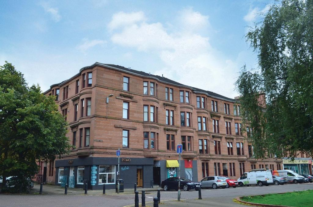1 Bedroom Flat for sale in Mansfield Street, Flat 3/2, Partick, Glasgow, G11 5QW