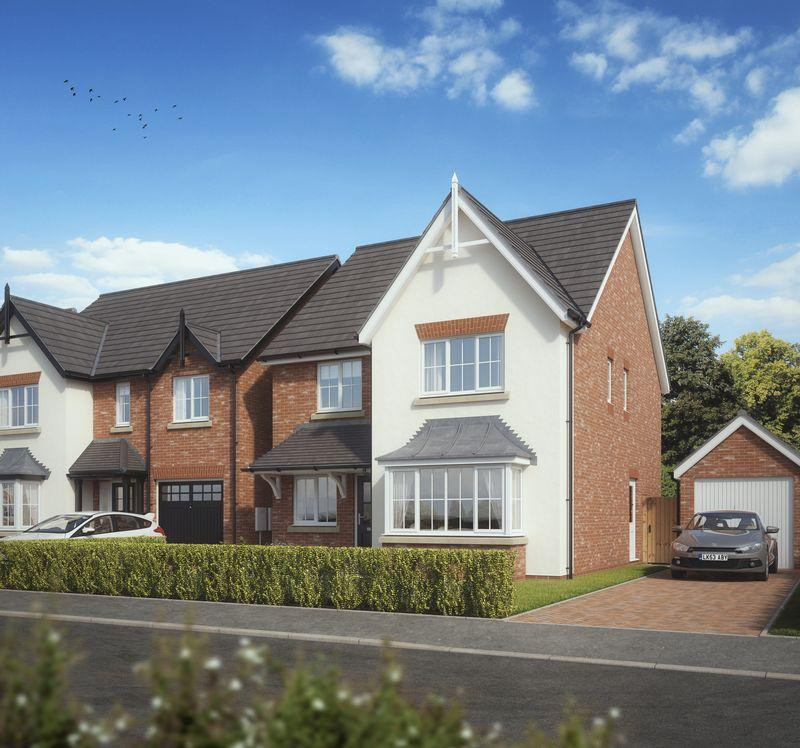 4 Bedrooms Detached House for sale in Plot 16, Kings Vale , off Shrewsbury Road