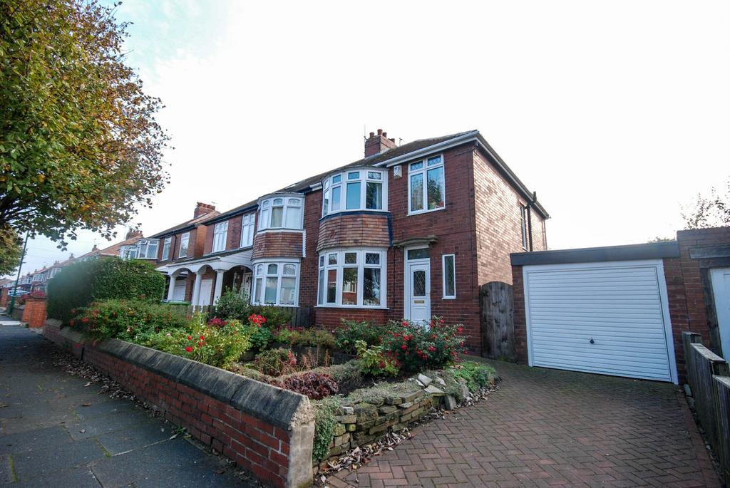 3 Bedrooms Semi Detached House for sale in Kingsway, South Shields