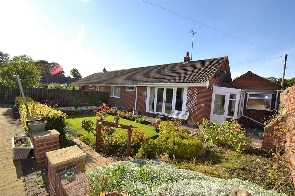 3 Bedrooms Semi Detached Bungalow for sale in Lothian Close, Spennymoor