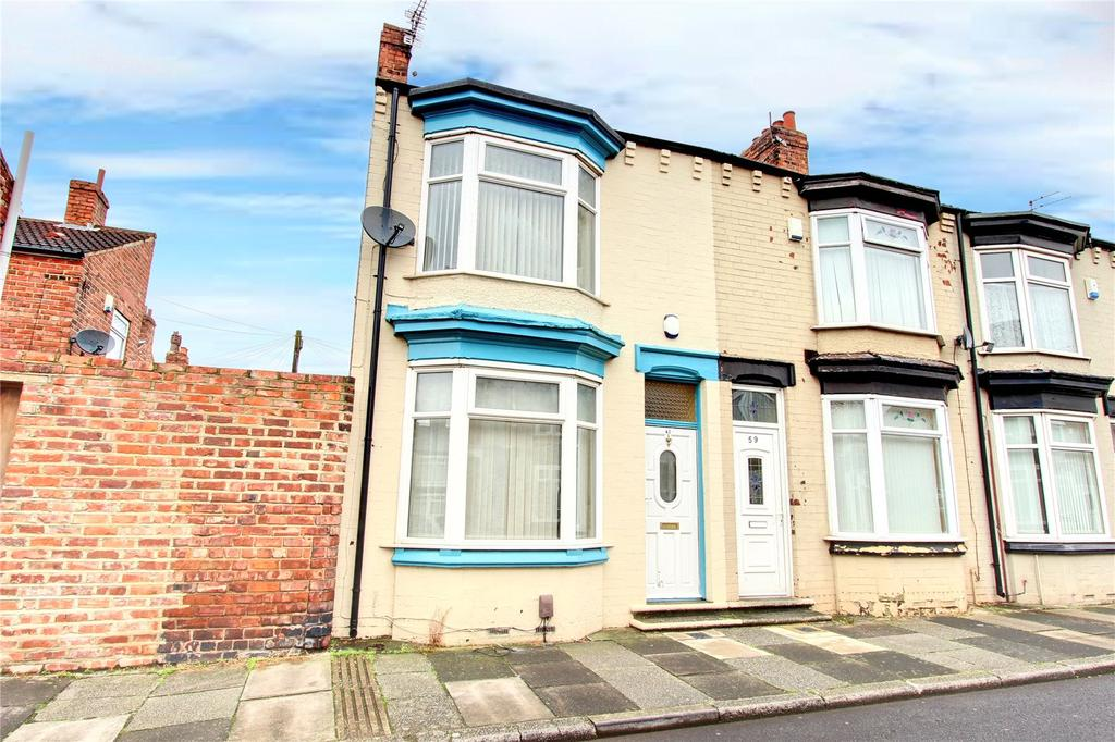 3 Bedrooms End Of Terrace House for sale in Clive Road, Linthorpe