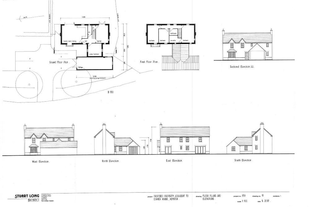 3 Bedrooms Land Commercial for sale in Keyston, Huntingdon
