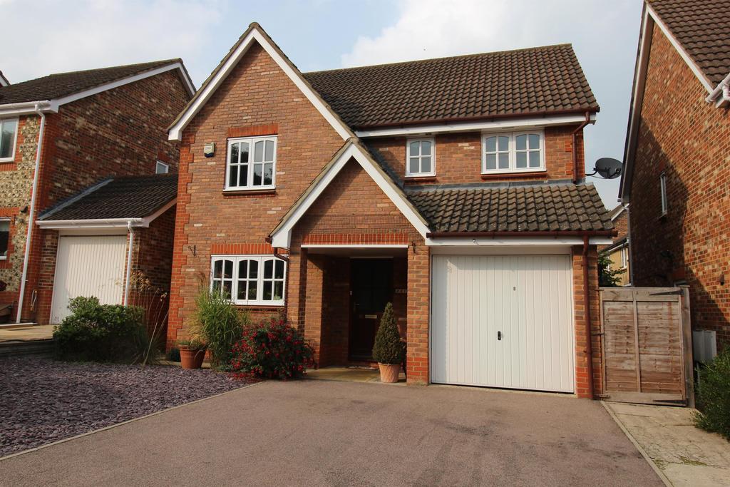 4 Bedrooms Detached House for sale in Thirlmere, Stevenage, Hertfordshire, SG1 6AQ