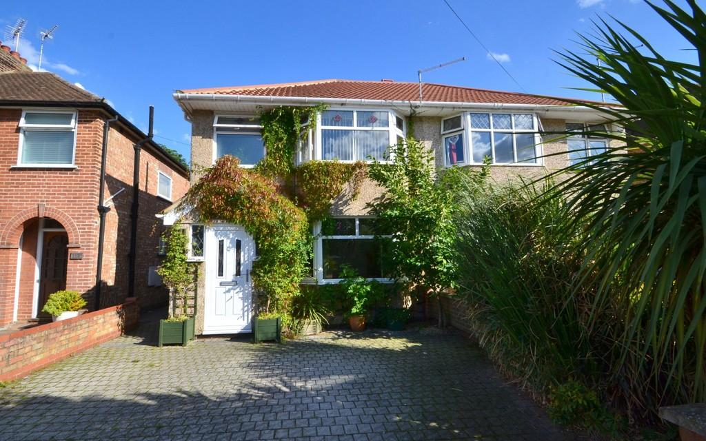 3 Bedrooms Semi Detached House for sale in Brunswick Road, Ipswich, IP4 4DB