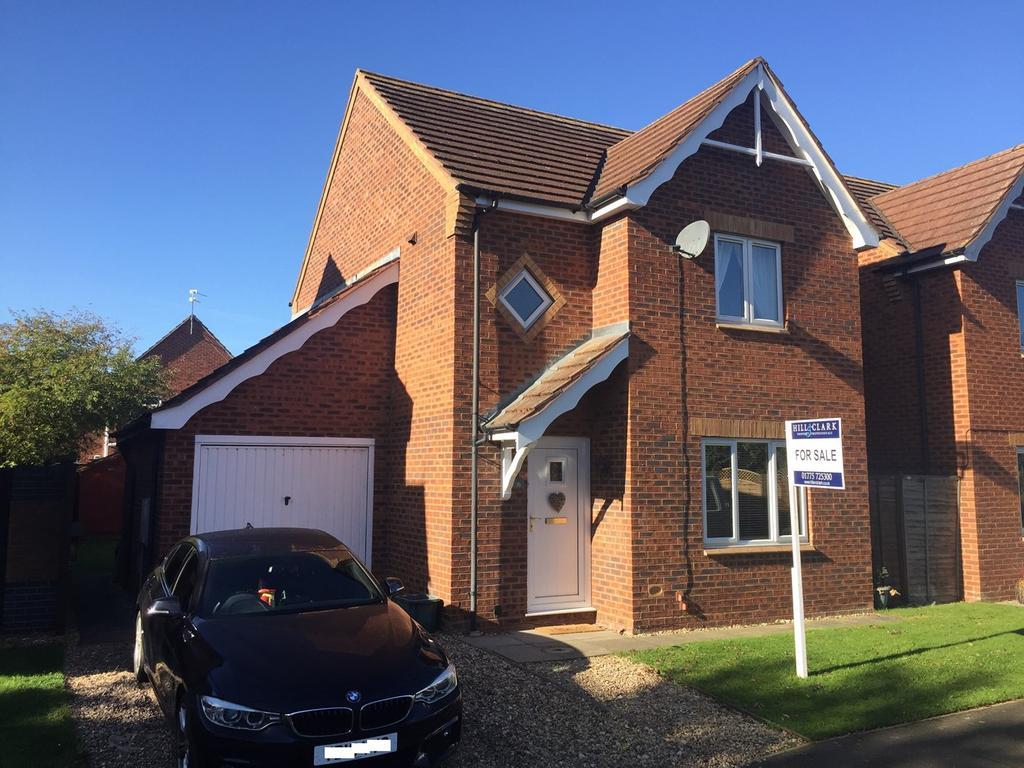 3 Bedrooms Detached House for sale in Sorrel Drive, Spalding, PE11