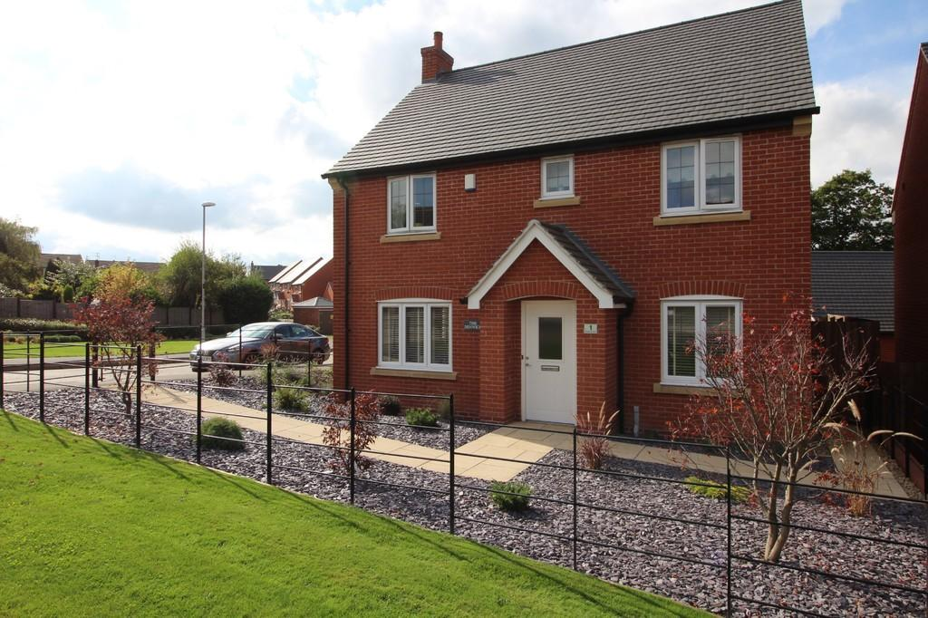 4 Bedrooms Detached House for sale in Buttercup Lane, Shepshed