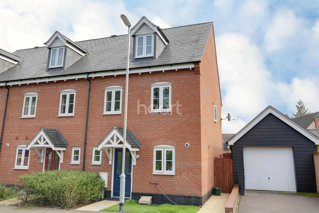 3 Bedrooms End Of Terrace House for sale in Stuart Drive, Thetford
