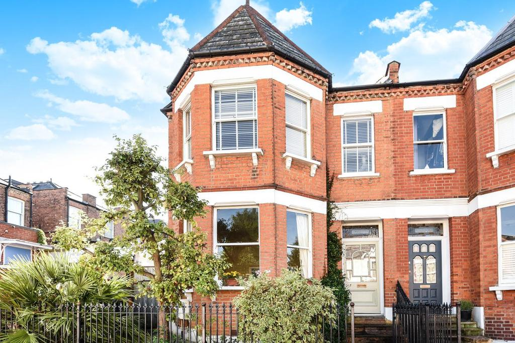 4 Bedrooms End Of Terrace House for sale in Greenham Road, Muswell Hill