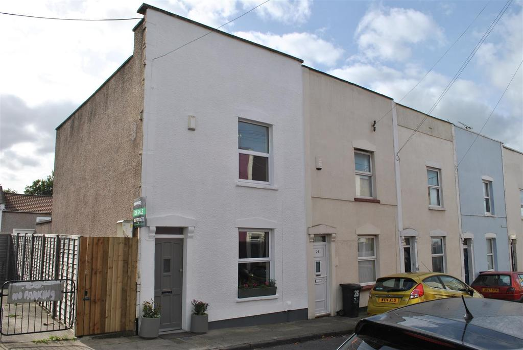 2 Bedrooms End Of Terrace House for sale in Montgomery Street, Bristol
