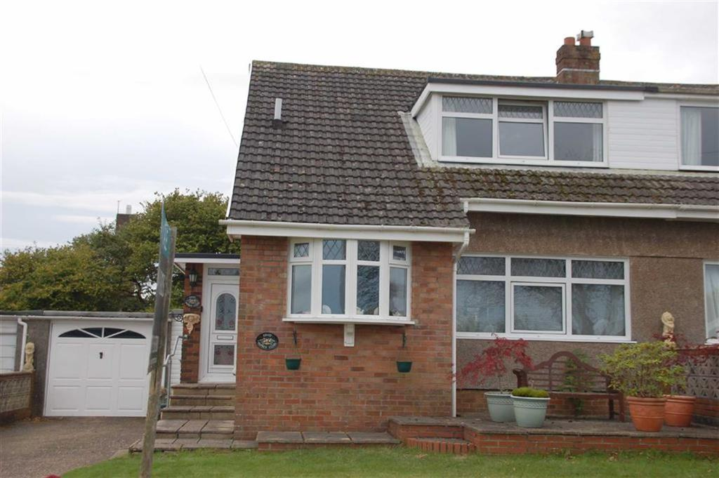 3 Bedrooms Semi Detached House for sale in Osprey Close, West Cross, Swansea
