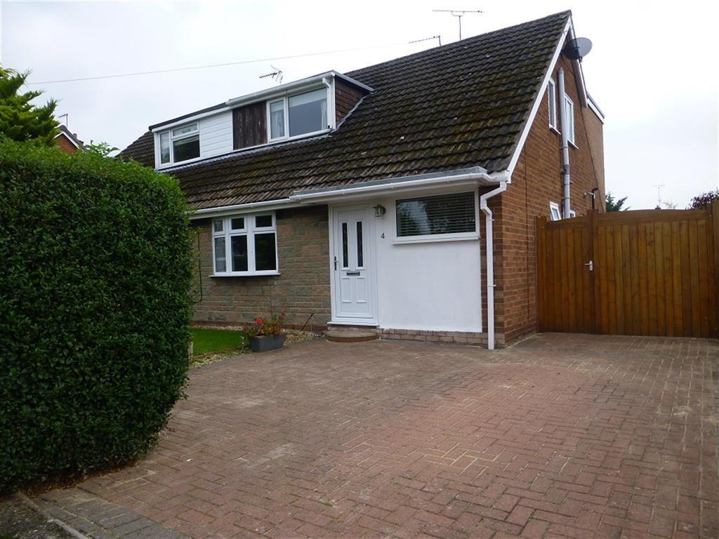 3 Bedrooms Semi Detached House for sale in Lake View, Borras, Wrexham