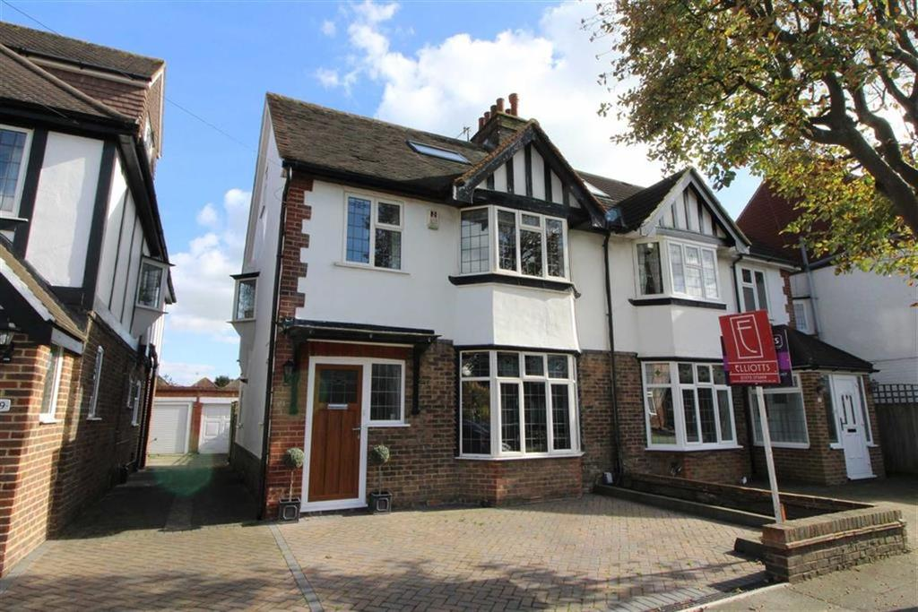 4 Bedrooms Semi Detached House for sale in Chelston Avenue, Hove, East Sussex