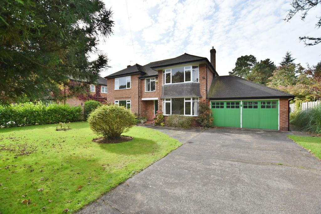 4 Bedrooms Detached House for sale in Greenside Drive, Hale