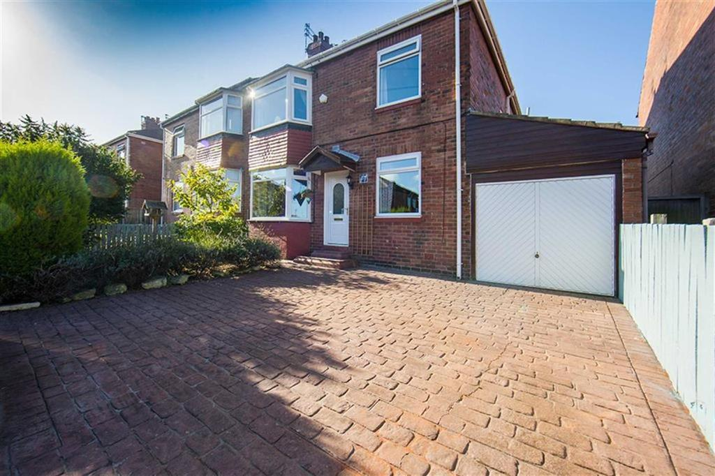 3 Bedrooms Semi Detached House for sale in Borrowdale Avenue, Walkerdene, Newcastle Upon Tyne, NE6