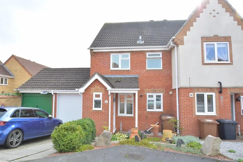 3 Bedrooms End Of Terrace House for sale in Borkum Close, Andover