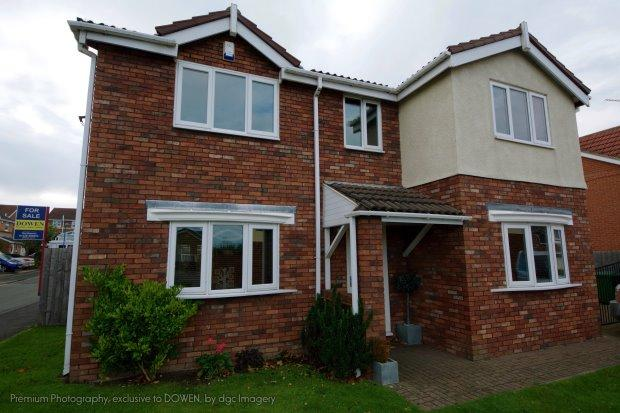 4 Bedrooms Detached House for sale in APPLEWOOD CLOSE, CLAVERING, HARTLEPOOL