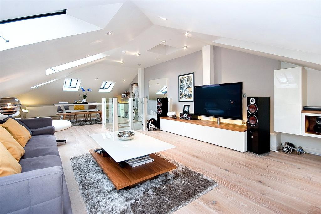 3 Bedrooms Maisonette Flat for sale in Randolph Avenue, Maida Vale, London, W9