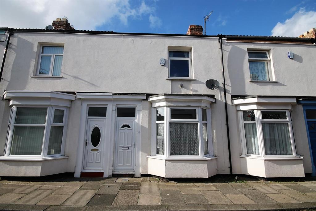2 Bedrooms Terraced House for sale in Mellor Street, Stockton-On-Tees