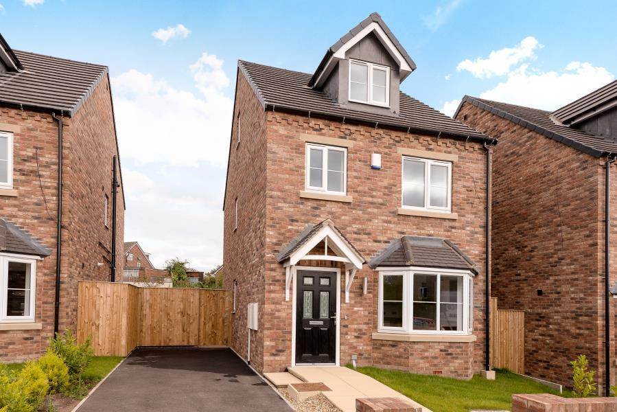 4 Bedrooms Detached House for sale in PLOT 2 CRICKETERS VIEW, GARFORTH LS25 2AF