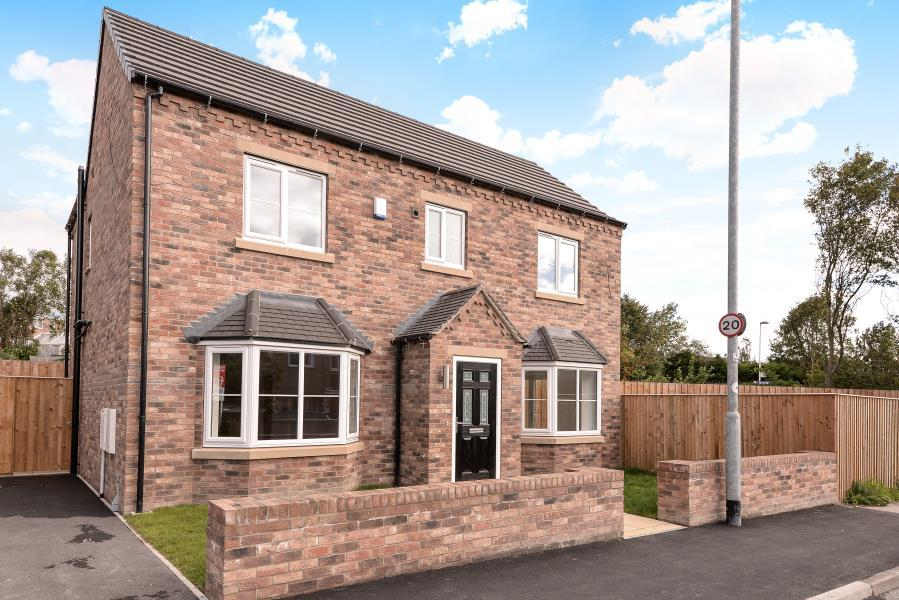 4 Bedrooms Detached House for sale in PLOT 4 CRICKETERS VIEW, GARFORTH LS25 2AF