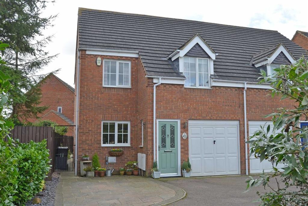 3 Bedrooms Semi Detached House for sale in Wheelwrights Way, Old Stratford