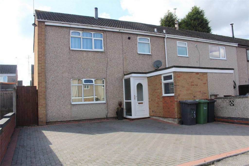 3 Bedrooms End Of Terrace House for sale in Pembroke Close, Bedworth, Warwickshire