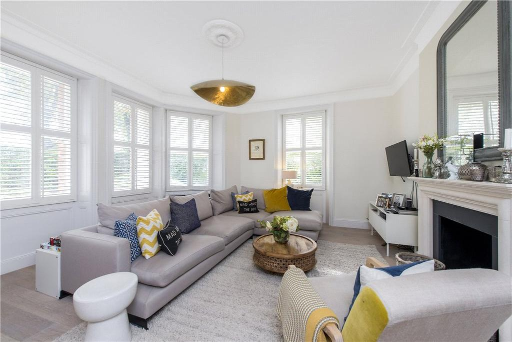 3 Bedrooms Flat for sale in Manor Mansions, Belsize Grove, London, NW3