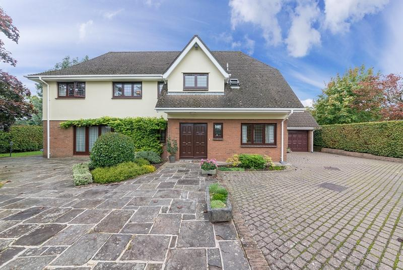 5 Bedrooms Detached House for sale in Melbourne Way, Newport, Newport. NP20 3RH