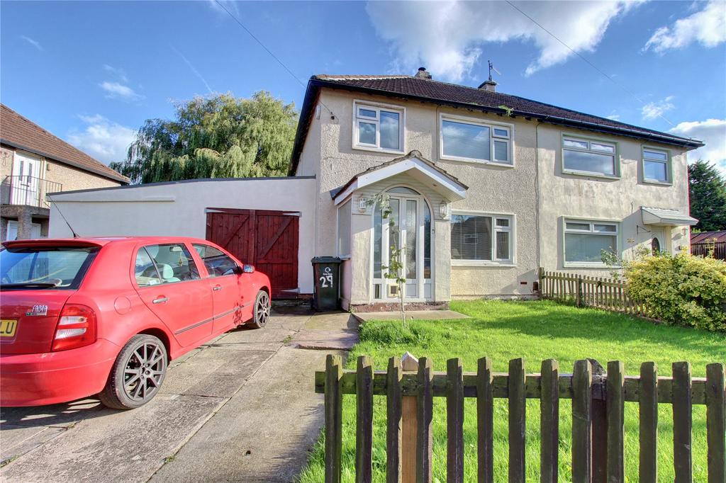 3 Bedrooms Semi Detached House for sale in Grange Estate, Lazenby