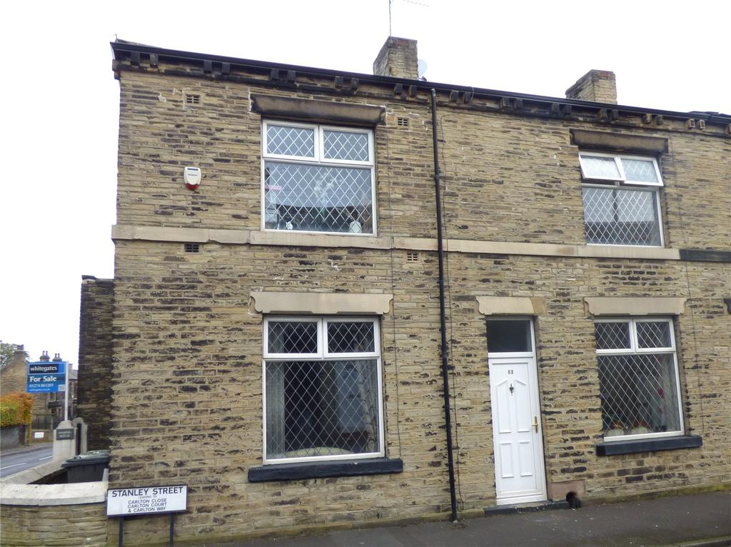 2 Bedrooms End Of Terrace House for sale in Whitcliffe Road, Cleckheaton, BD19