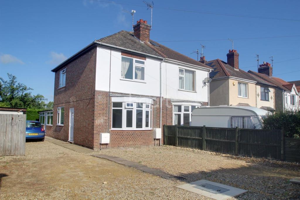 2 Bedrooms Semi Detached House for sale in Peterborough Road, Farcet