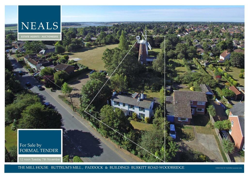 4 Bedrooms Detached House for sale in The Mill House, Buttrum's Mill, Paddock Buildings, Woodbridge