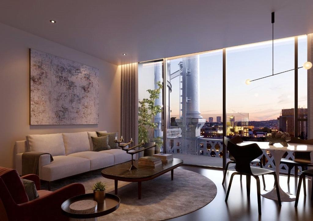2 Bedrooms Flat for sale in Lewis Cubitt, London, N1C