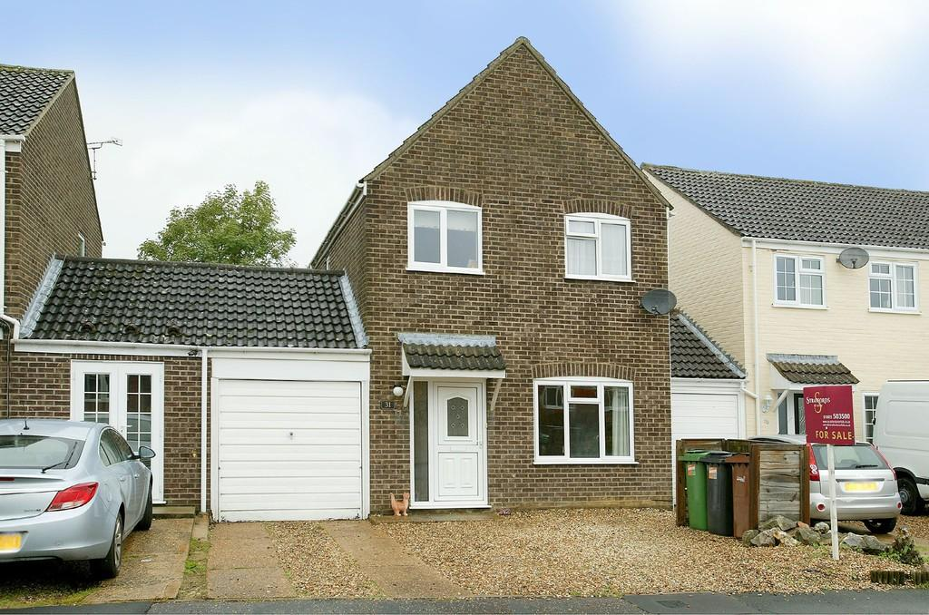 3 Bedrooms Link Detached House for sale in Lark Rise, Mulbarton