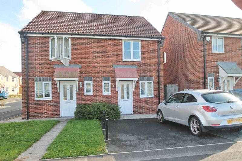 2 Bedrooms Semi Detached House for sale in Transporter Way, Middlesbrough