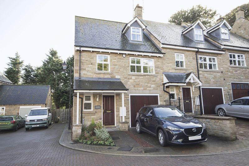 4 Bedrooms End Of Terrace House for sale in Greens Park, Warkworth, Morpeth