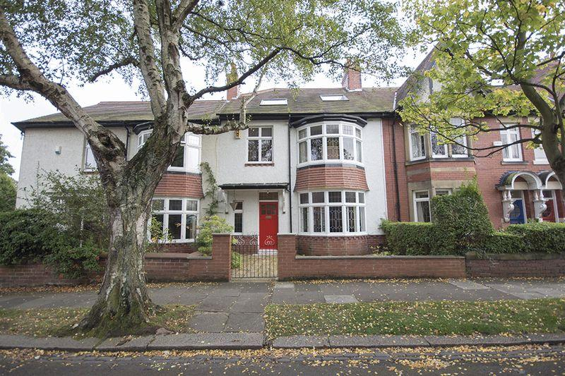 5 Bedrooms Terraced House for sale in Woodlands, Gosforth