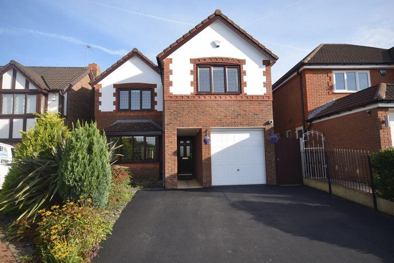 4 Bedrooms Detached House for sale in Bridgend Close, Widnes