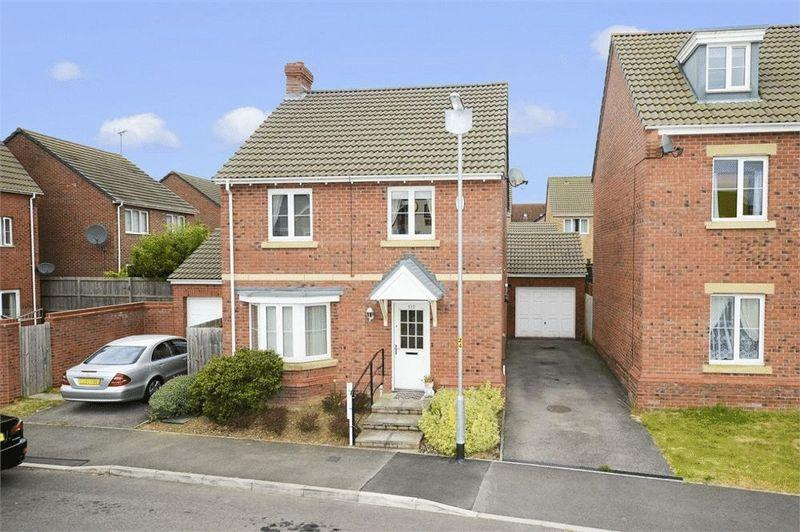 4 Bedrooms Detached House for sale in Dunnock Road, Oakley Vale, Corby