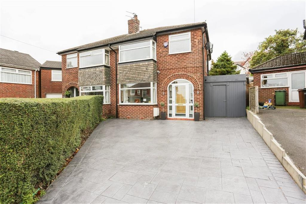 3 Bedrooms Semi Detached House for sale in Waterside Avenue, Marple, Cheshire
