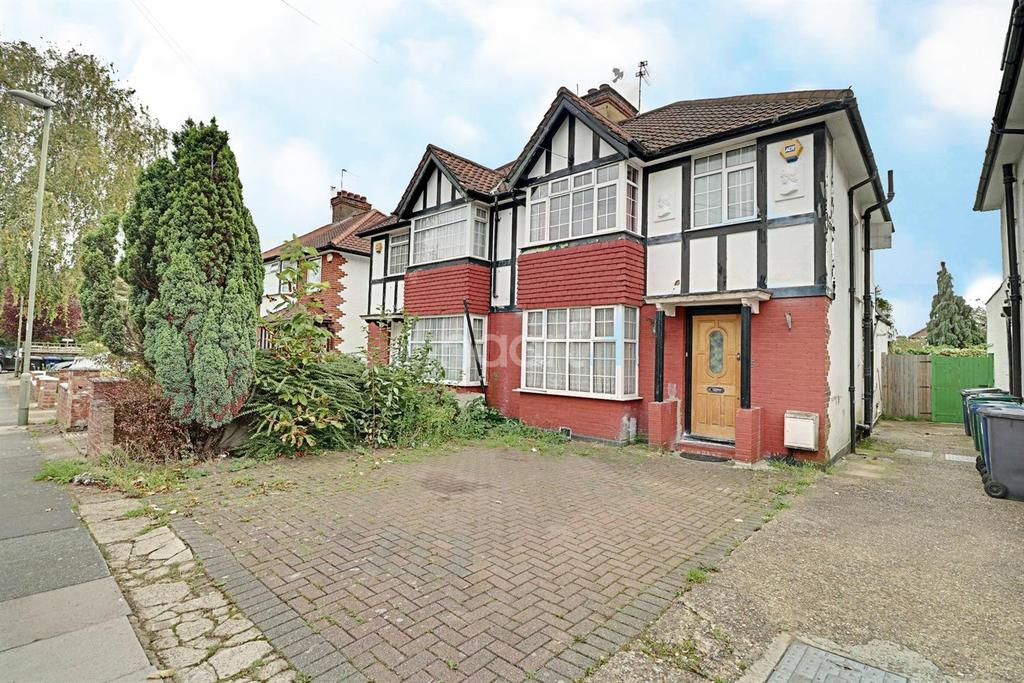 3 Bedrooms Semi Detached House for sale in Greenway Gardens, London NW9