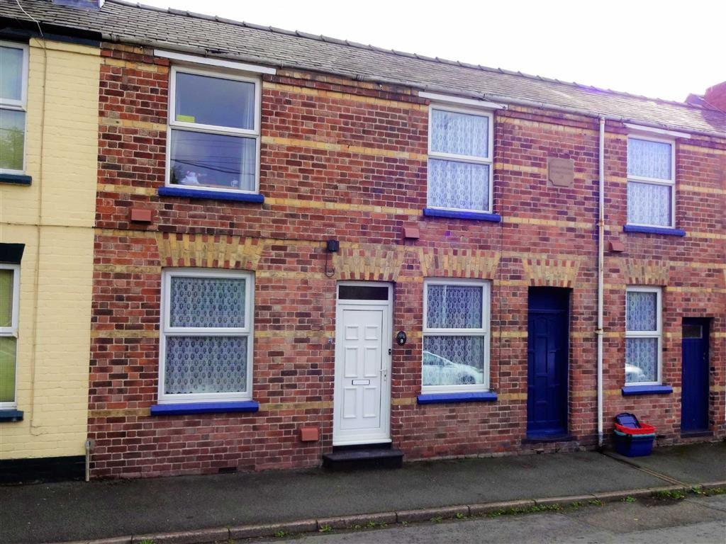 3 Bedrooms Terraced House for sale in 2, Oakfield Terrace, Nantoer, Newtown, Powys, SY16