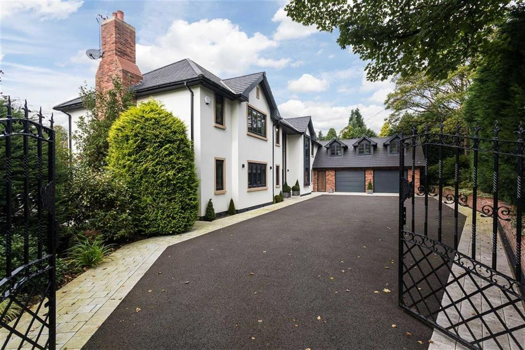 5 Bedrooms Detached House for sale in Clamhunger Lane, Mere, Cheshire, WA16