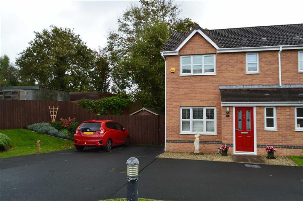 3 Bedrooms Semi Detached House for sale in Leucarum Court, Swansea, SA4