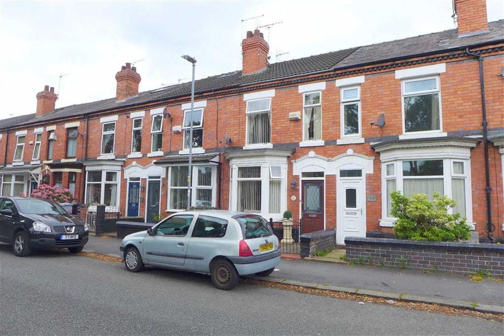 2 Bedrooms Terraced House for sale in Westminster Street, Crewe