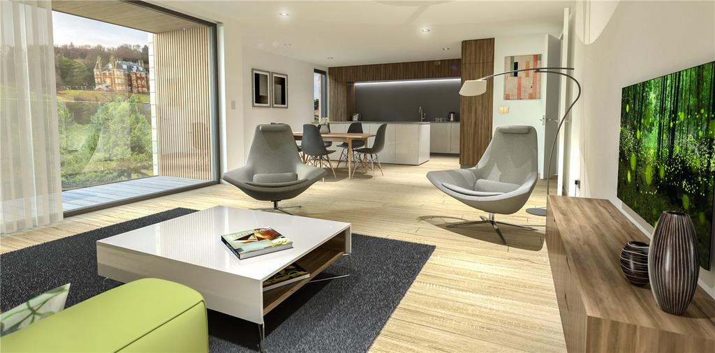 3 Bedrooms Apartment Flat for sale in 3 Bedroom New Build Apartment, Craighouse, Craighouse Road, Edinburgh