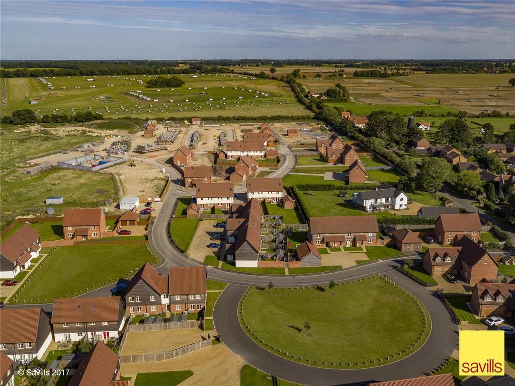 5 Bedrooms Detached House for sale in Plot 16, Poppy Fields, Burlingham Road, East Harling, Norwich, NR16