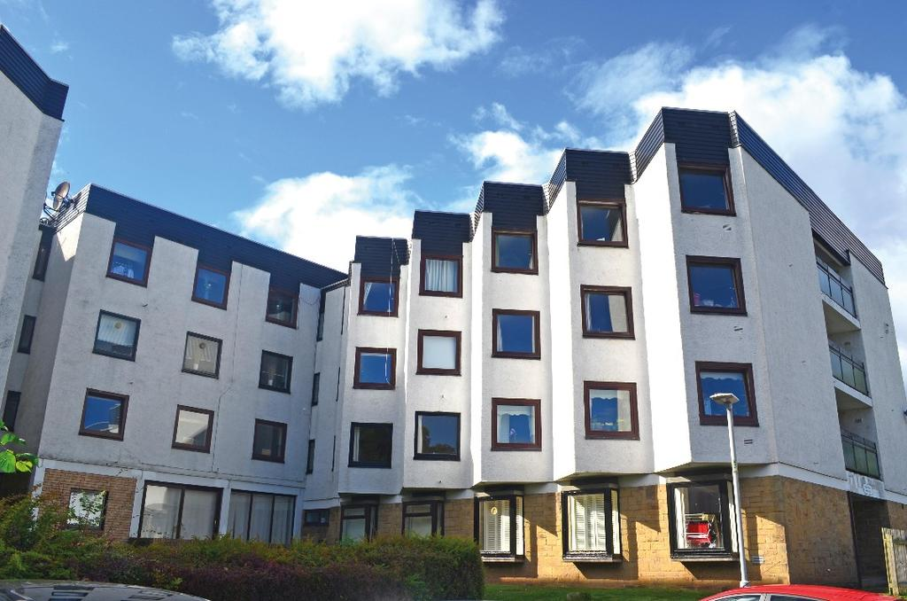 1 Bedroom Apartment Flat for sale in Clyde House, The Furlongs, Hamilton, South Lanarkshire, ML3 0BA